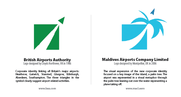 Logos of BAA and MACL: Spot the differences.